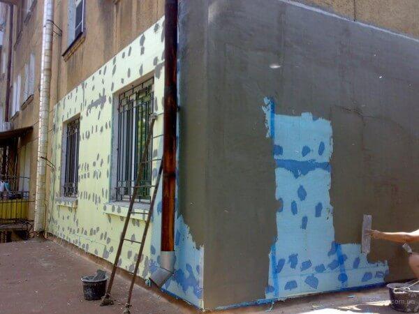 Цена на утепление фасада в Минске