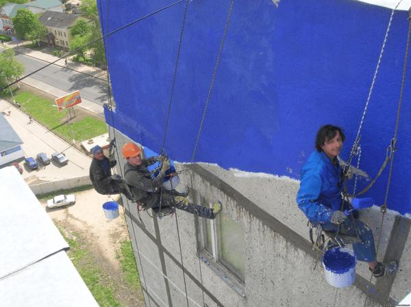 Стоимость окрасить фасад в Минске