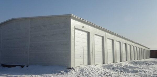 Строительство гаража под ключ в Минске