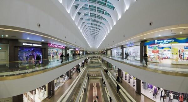 Проект торгово-развлекательного центра в Минске