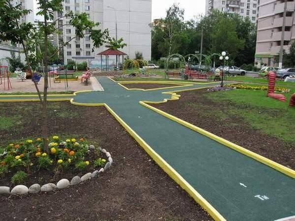 Благоустроить участок в Витебске