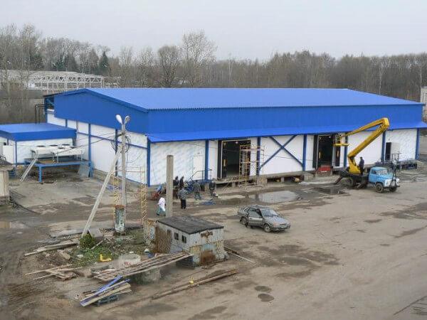 Строительство склада, цена строительной фирмы Минска