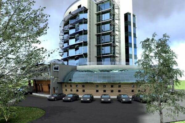 Цена строительства административного здания в Минске