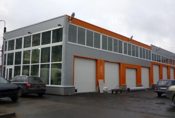 Строительство автосервиса в Минске