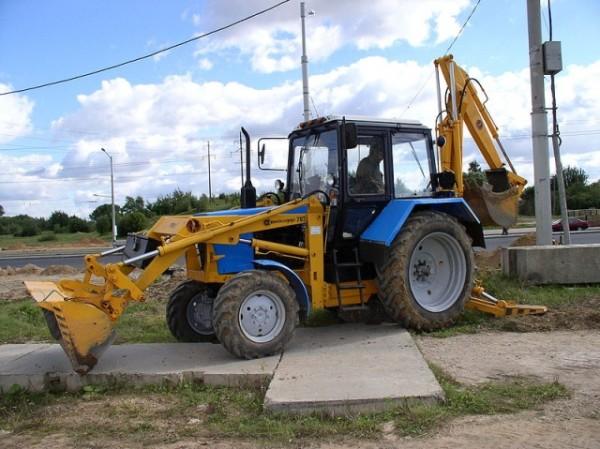 Заказ трактора от 3 часов от 500 000