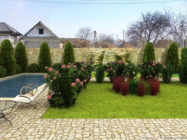 Озеленение участка, цена в Минске