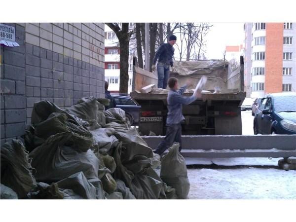 Заказать вывоз строительного мусора в Минске