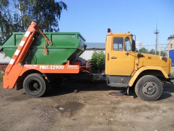 Вывоз строительного мусора, цена в Витебске и Минске