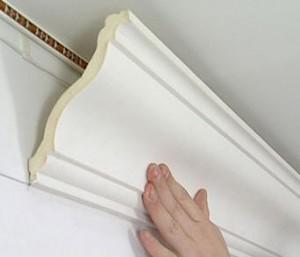 Стоимость установки плинтуса потолочного карниза
