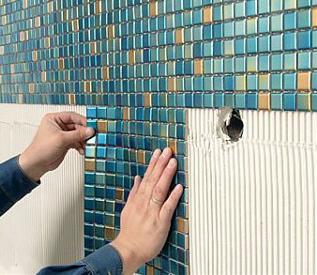 Стоимость укладки мозаики на сетке в Минске