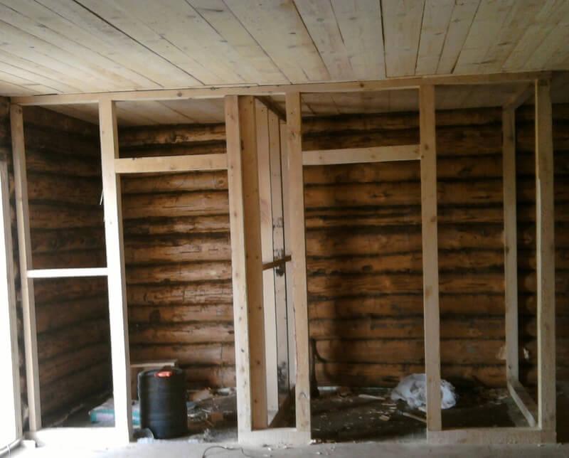 Стоимость демонтажа деревянных перегородок, цена сноса стены