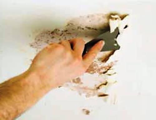 Стоимость снятия побелки, цены на удаление побелки стен