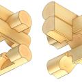 Рубка срубов «в крюк» стоимость в Минске