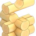 Рубка срубов «в обло» цена в Минске