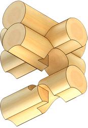 Рубка срубов в обло-охлоп с присеком цена в Витебске