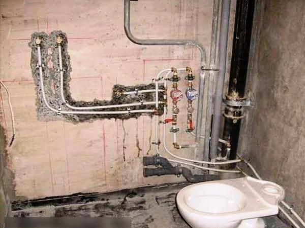 Замена труб водоснабжения, цена в Минске