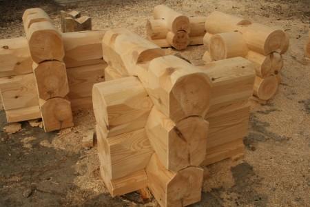 Рубка срубов «в курдюк», цена в Витебске и Минске