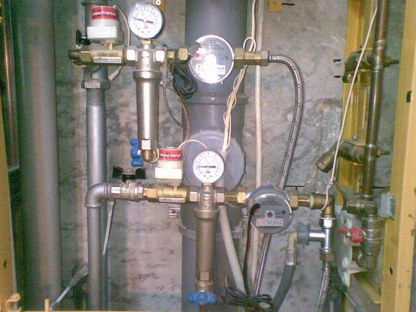 Демонтаж тепловой трубы