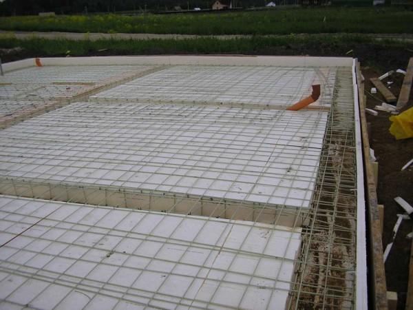Плавающий фундамент, цена строительства под ключ
