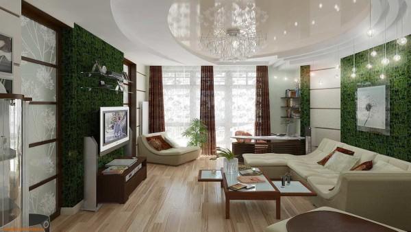 Заказать ремонт гостиной в Минске