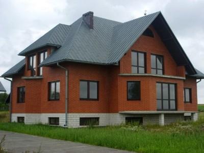 Строительство кирпичного дома, цена в Витебске и Минске
