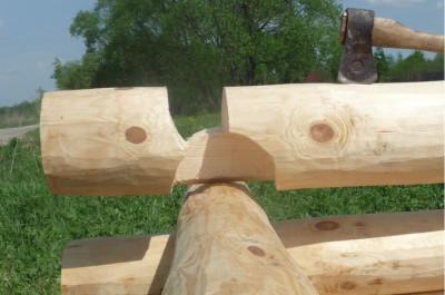 Рубка срубов «в крюк», стоимость в Беларуси