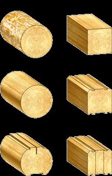 Рубка срубов из оцилиндрованного бревна цена в Минске