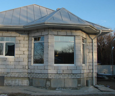 Строительство дома из газоблоков, цена в Беларуси