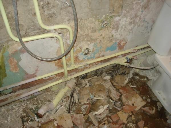 Замена канализационных труб из чугуна в Минске