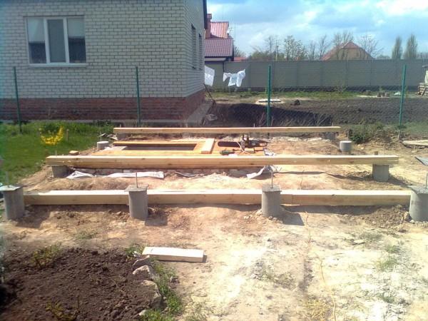 Строительство свайного фундамента в Минске