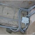 Прокладка провода в гофре цена
