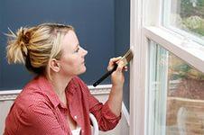 Цена покраски окна с удалением старой краски