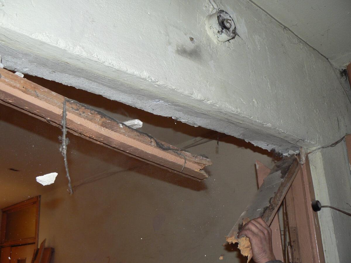 Цена демонтажа дверей без сохранения