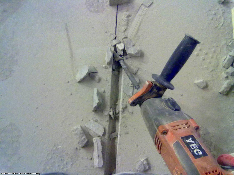 Штробление поверхностей 20 мм цена