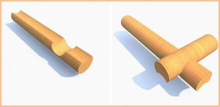 Рубка срубов из бревен с остатком цена в Витебске