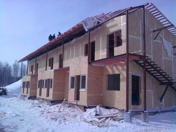 Дома из переставной опалубки, цена строительства в Витебске и Минске