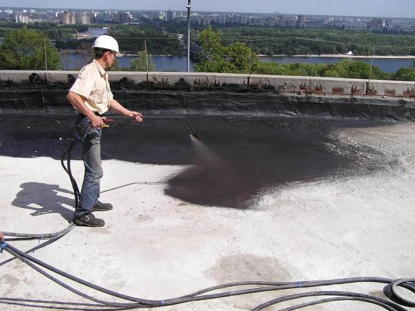 Построить плоскую крышу, цена работ в Минске
