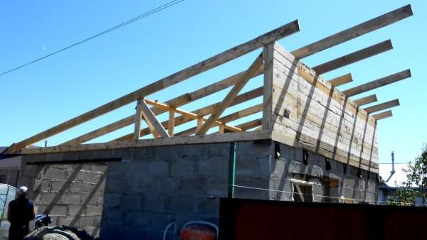 Односкатные крыши в Минске