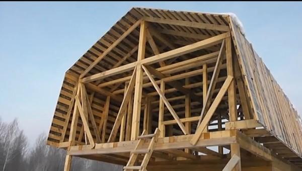 Мансардная крыша стоимость в Минске