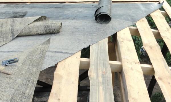 Толь для крыш, цена монтажа и материала под ключ в Минске