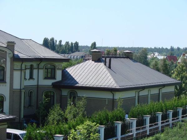 Цинк-титановые крыши под ключ, цена материала в Минске