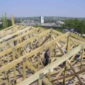 Двухскатная крыша цена работ