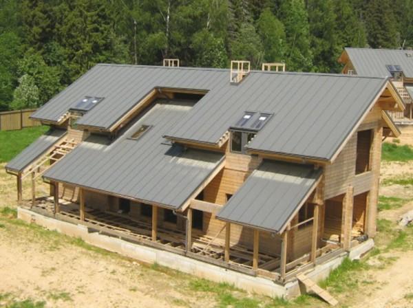 Полувальмовая крыша ремонт цена в Минске