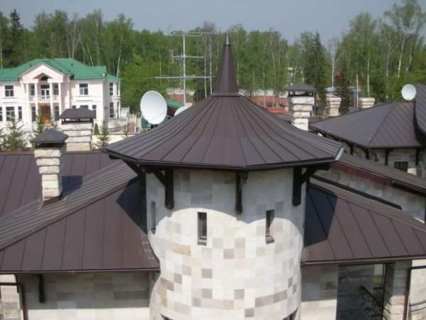 Алюминиевая кровля под ключ, стоимость материала в Минске