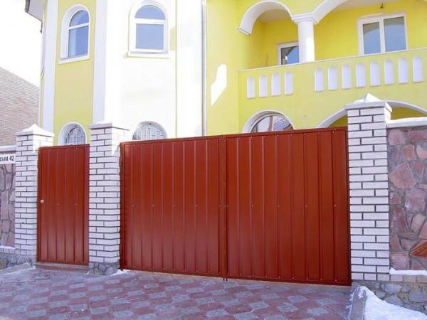 Профнастил, цена сделать забор в Минске
