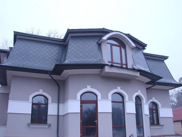 Цинк-титановые крыши, цена под ключ в Минске