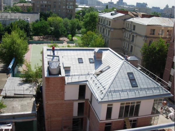 Цинк-титановые крыши цена материала в Беларуси