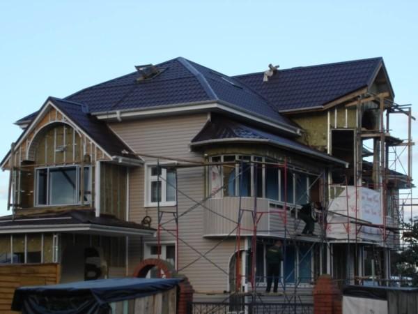 Мансардная крыша цена строительства