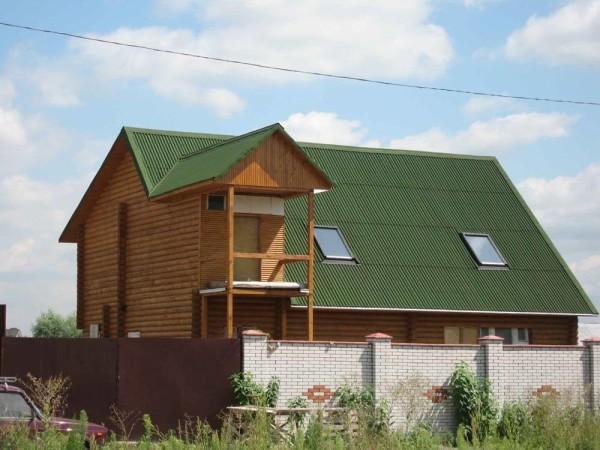 Ондулин для крыши, цена материала и работ в Минске