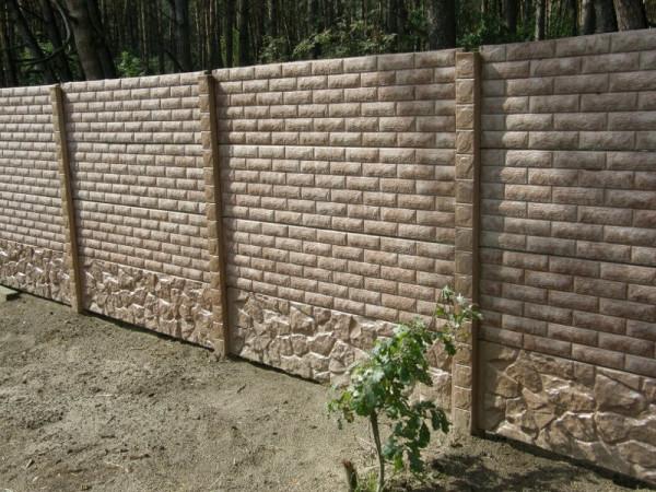 Заказать бетонный забор в Минске